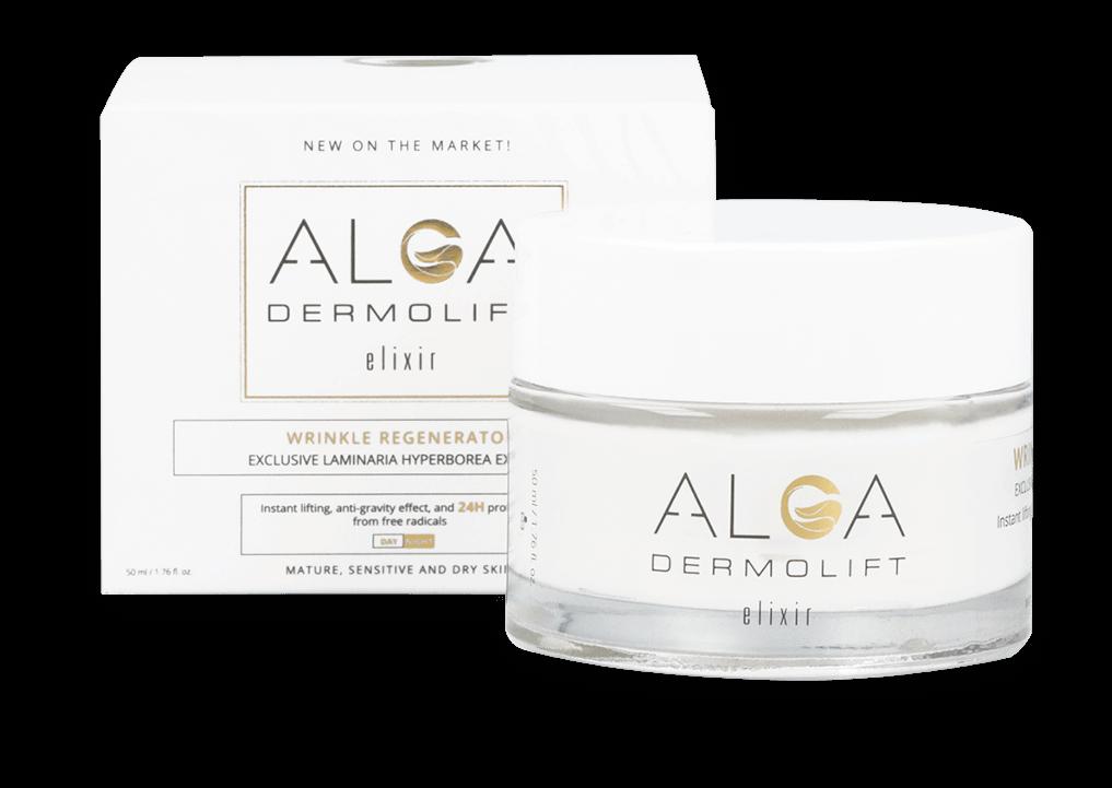 Alga DermoLift Elixir skład cena efekty. Przeciwzmarszczkowa rewolucja, która opanowała świat!
