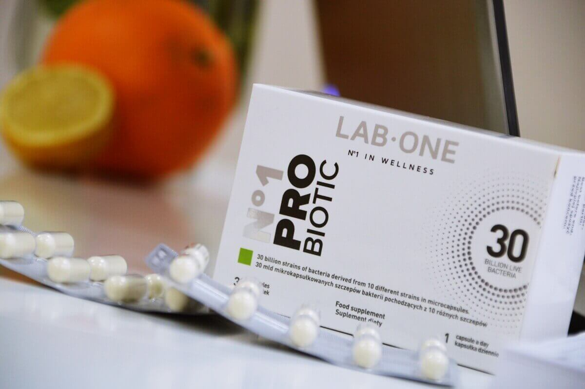 probiotic lab one opinie