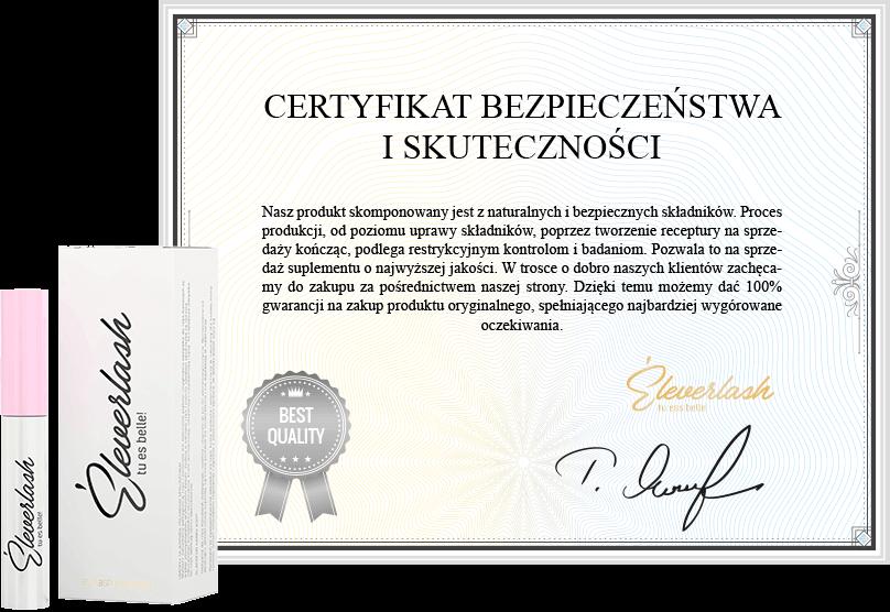 eleverlash certyfikat