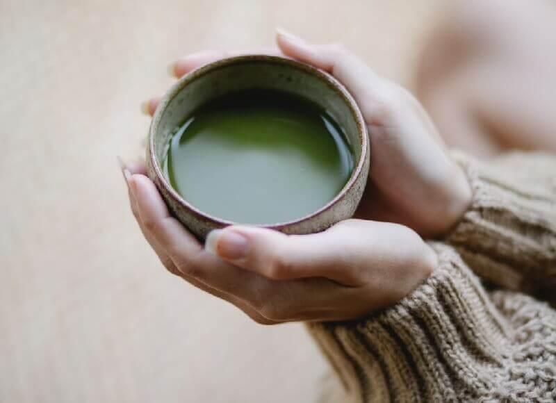 herbaty matcha oczyszczanie organizmu